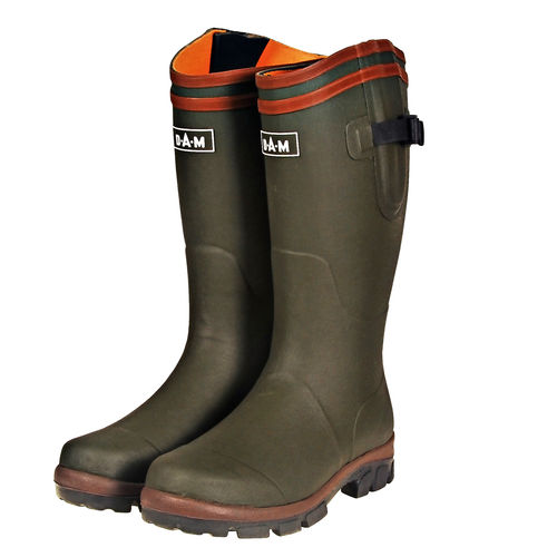 DAM Rubber Boots Cotton Stiefel