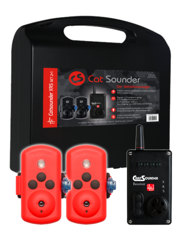 Cat Sounder XRS SD Edition Set 2+1
